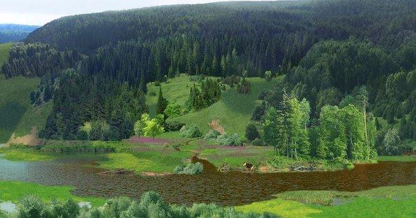 Как выглядела набережная Ижевска до того, как появился пруд, фото-1