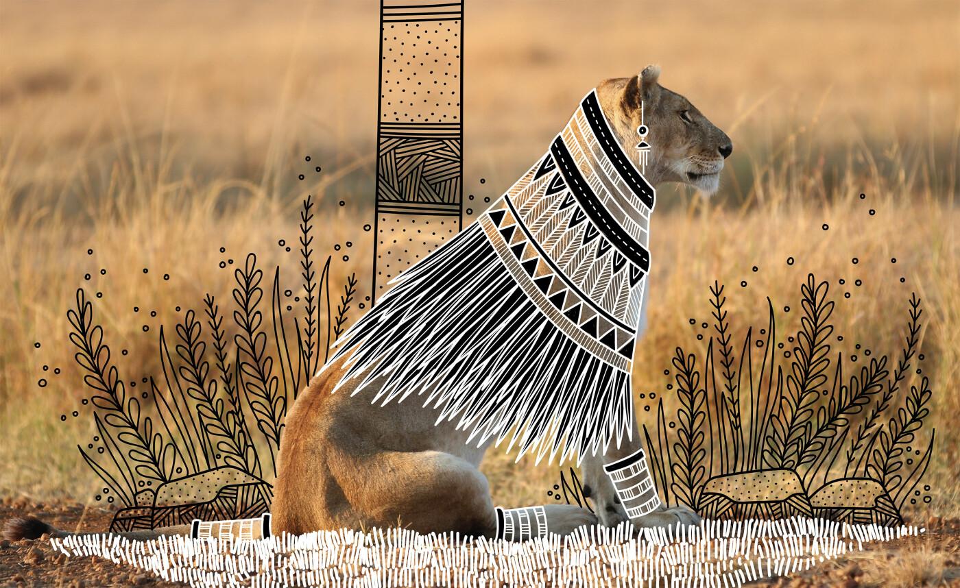 Индийский иллюстратор Рохан Шарад Дахотр и его необычный взгляд на животных и птиц, фото-4