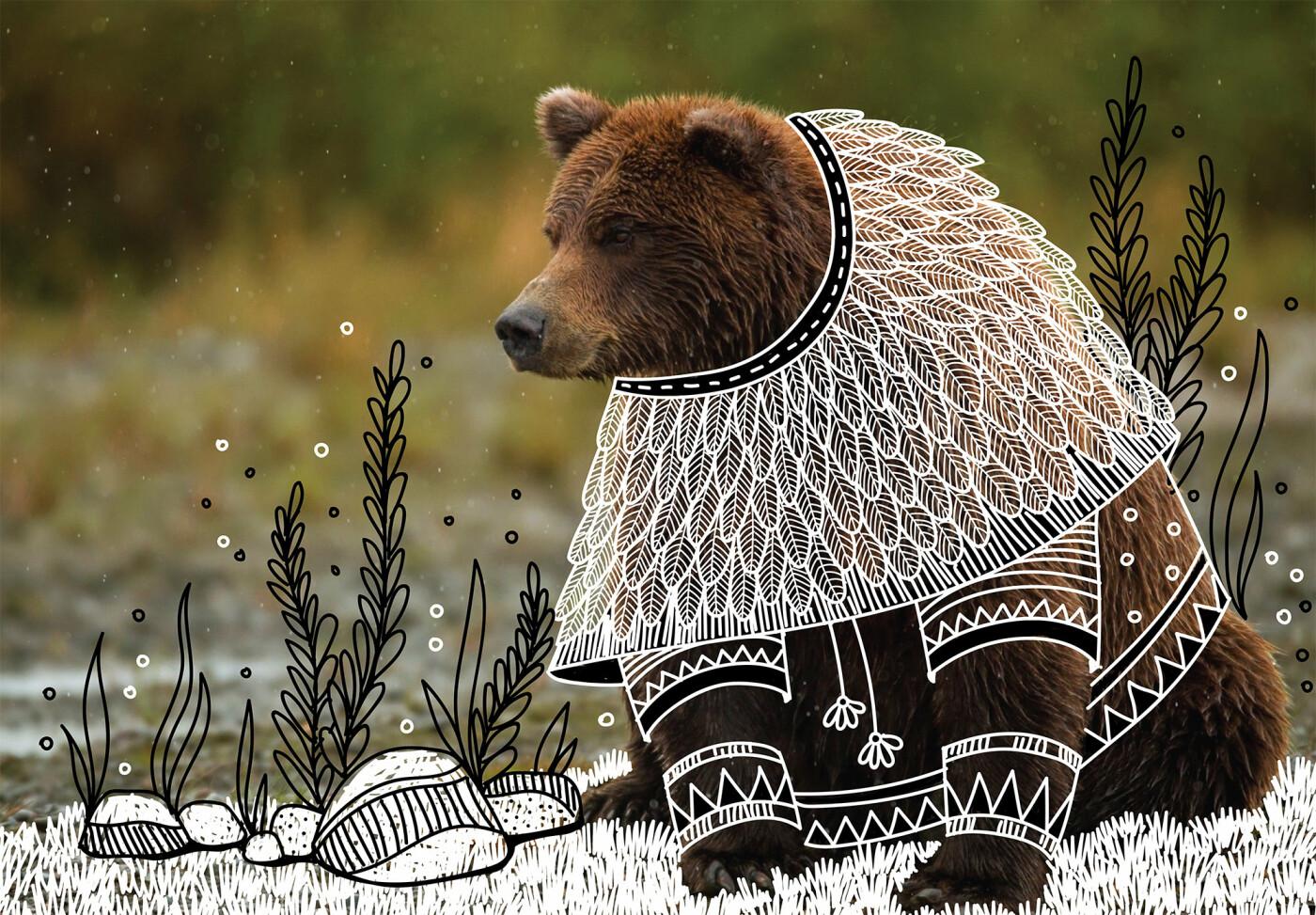 Индийский иллюстратор Рохан Шарад Дахотр и его необычный взгляд на животных и птиц, фото-3