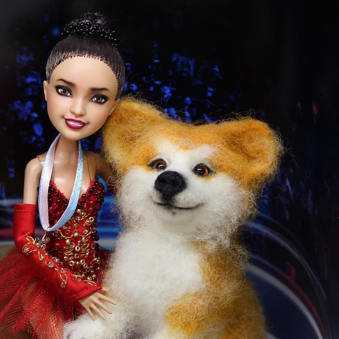 Кукла Алина обзавелась игрушечной собачкой по кличке Масару, фото-1