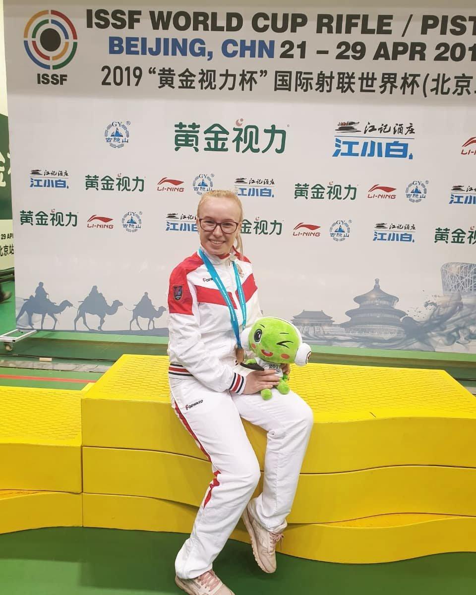 Золото завоевала Юлия Каримова на этапе Кубка мира по пулевой стрельбе в Пекине , фото-1