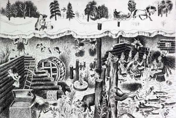 В издательстве «Удмуртия» вышло переиздание книги «Мифы, легенды и сказки удмуртского народа», фото-1