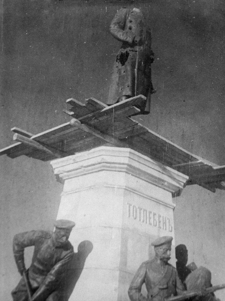 Минобороны опубликовало уникальные фото разрушенного Севастополя, фото-9