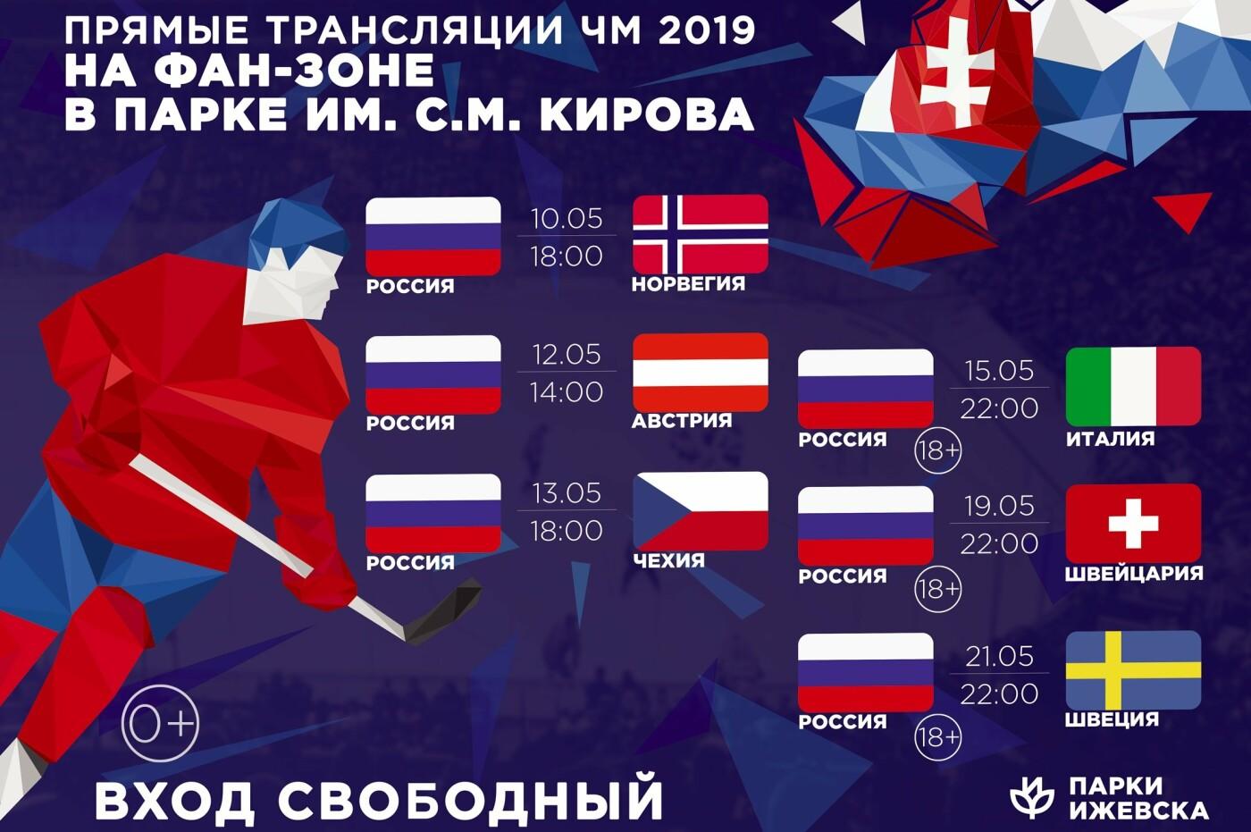 Расписание матчей чемпионата мира по хоккею, фото-1
