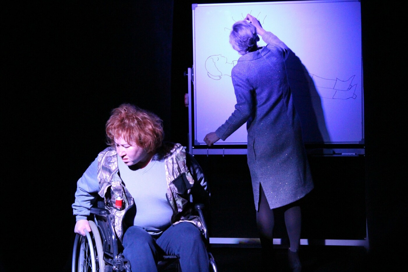 26 мая театр-студия «Птица» покажет спектакль «Здесь была Я», фото-1