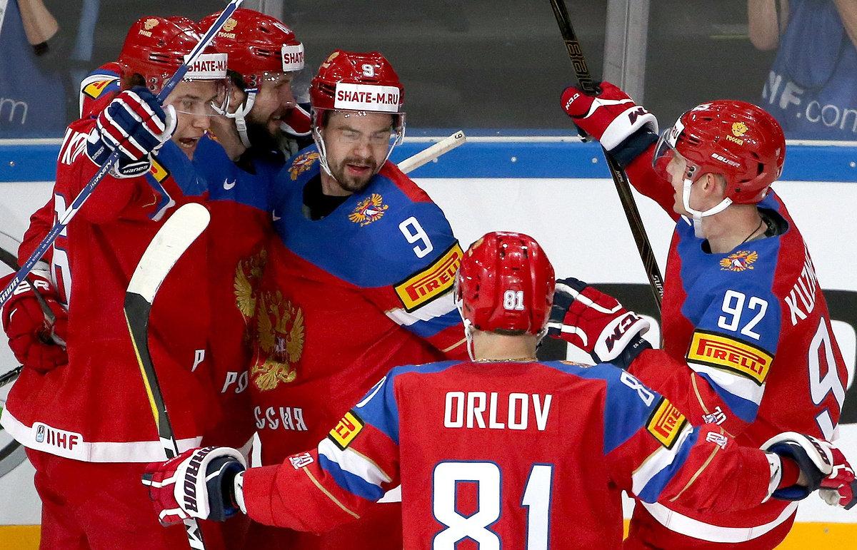 Россия обыграла США и вышла в полуфинал ЧМ по хоккею, фото-1