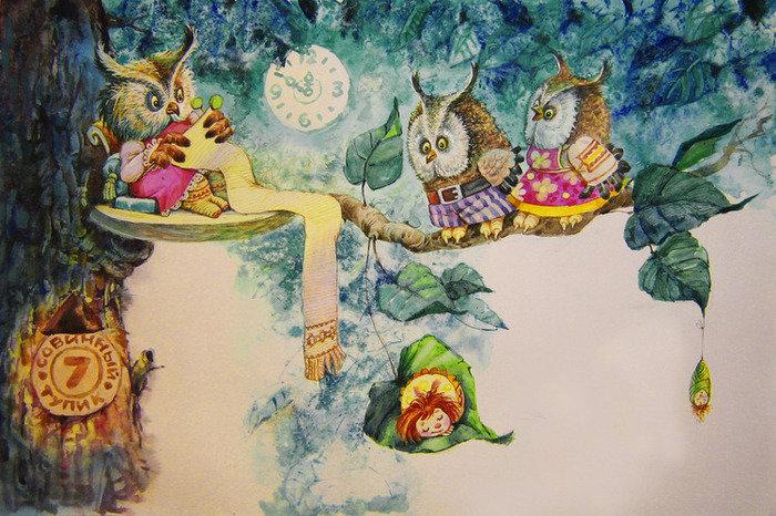 В Ижевске открывается выставка работ детского иллюстратора Владимира Коркина, фото-1