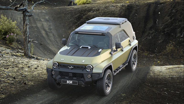 Независимый промышленный дизайнер создал ремейк УАЗ-469, фото-1