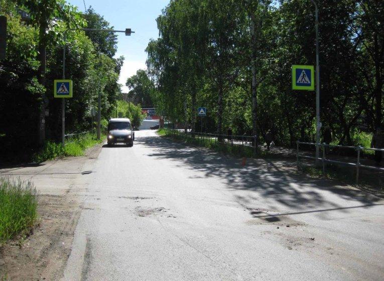 ДТП в Ижевске: на зебре сбили девушку с ребенком на руках, фото-1