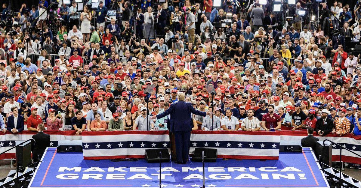 Трамп объявил о начале новой президентской кампании, фото-1